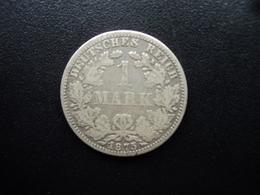 ALLEMAGNE : 1 MARK  1875 A  KM 7  TB+ / TTB - [ 2] 1871-1918: Deutsches Kaiserreich