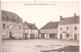 CPA - La Chapelle-Montligeon - La Place - Frankreich