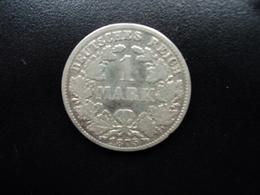 ALLEMAGNE : 1 MARK  1875 D   KM 7    TB+ - [ 2] 1871-1918: Deutsches Kaiserreich