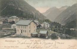 T.283.  MACUGNAGA - Vall'Anzasca - 1901 - Italië