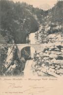 T.286.  MACUGNAGA - Cascata Mondelli - 1905 - Italië