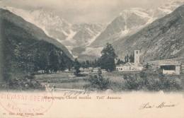 T.292.  MACUGNAGA - Chiesa Vecchia - 1902 - Italië
