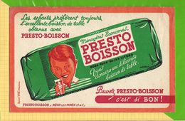 Buvard & Blotting Paper : Boisson De Table PRESTO BOISSON  Noeux Les Mines - Limonades