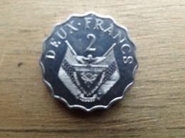 Rwanda  2  Francs  1970  Km 10 - Rwanda