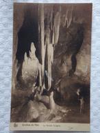 CPA//CP - HAN - Grotte De Han - La Grande Draperie - De Haan