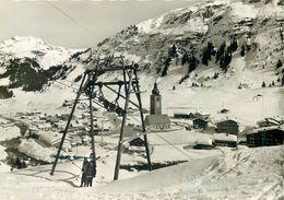D1158 Lech A. Arlberg Austria Ski Lift Cableway - Lech