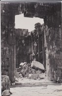 CARTE-PHOTO---LIBAN--ruines De BAALBEK---voir 2 Scans - Liban