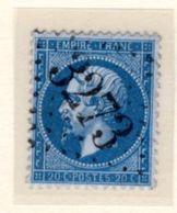 Jura : GC 3273 SALINS Sur Yt 22 - 1849-1876: Classic Period