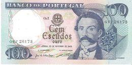 Portugal  - Pick 169a - 100 Escudos 1965 - XF - Portogallo