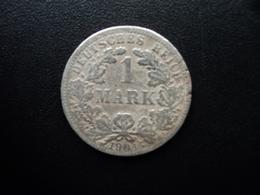 ALLEMAGNE : 1 MARK  1904 F  KM 14   TB+ - [ 2] 1871-1918: Deutsches Kaiserreich