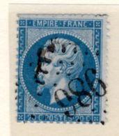 Jura : GC 986 CHAUSSIN Sur Yt 22 - 1849-1876: Classic Period