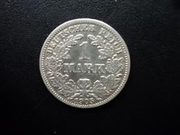 ALLEMAGNE : 1 MARK  1905 J  KM 14   TB+ * / TTB - [ 2] 1871-1918: Deutsches Kaiserreich