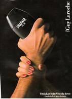 PUBLICITE DE 1989 PARFUMS - Perfume & Beauty