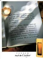 PUBLICITE DE 1989 PARFUMS - Unclassified