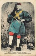 Ref X76- Albanie - Albania - Guerre 1914-18- Orient - Comitadjis Albanais Soldat D Essad Pacha   - Carte Bon Etat - - Albanie