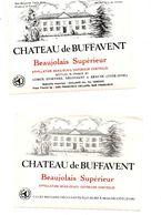 Etiquette Bourgogne Beaune Beaujolais Buffavent - Bourgogne