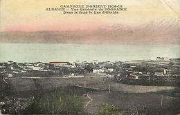 Ref X75- Albanie - Albania - Guerre 1914-18- Vue Generale De Pogradie / Etat :leger Pli Coin Haut Droit  - - Albanie
