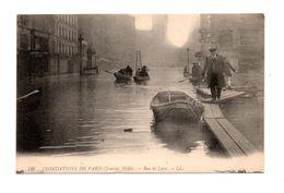 75 - PARIS . INONDATIONS DE PARIS 1910 . RUE DE LYON - Réf. N°7991 - - Paris Flood, 1910