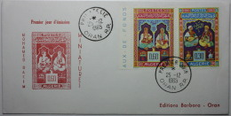 ALGERIE FDC Enluminures-miniatures De Mohamed Racim 1965 - Algerije