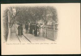 Exposition Universelle De 1900 - Plate-Forme Mobile, Quai D'Orsay - Exhibitions