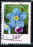 Bund 2017, Michel# 3324 O Blumen: Vergissmeinicht - BRD