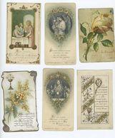 Souvenirs De Première Communion Lot De 6 ( Images Pieuses) - Communion
