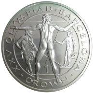 Ref. 1096-1238 - COI GIBRALTAR . 1989. 1 CROWN 1989 GIBRALTAR OLYMPIADA BARCELONA 1992 - Gibraltar