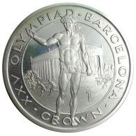 Ref. 1099-1241 - COI GIBRALTAR . 1989. 1 CROWN 1989 GIBRALTAR OLYMPIADA BARCELONA 1992 - Gibraltar