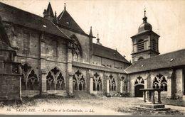 88 SAINT-DIE LE CLOITRE ET LA CATHEDRALE - Saint Die
