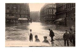 75 - PARIS . INONDATIONS DE PARIS 1910 . PLACE DE ROME - Réf. N°7996 - - Paris Flood, 1910