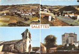 43-SALETTES- MULTIVUES - France
