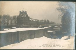 Paris Sous La Neige - Vue Sur Le Pont Royal - France