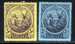 Barbade 1916 Yvert 108 - 113 * TB Charniere(s) - Barbados (...-1966)
