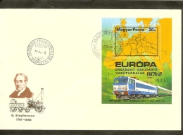 1979 - European Thought FDC Hungary - International Traffic Exhibition (1) [NL141_03] - Europese Gedachte