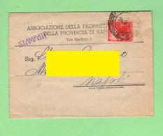 Napoli Ass. Proprietà Edilizia 1946 Biglietto Postale - Historical Documents