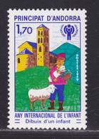 ANDORRE N°  279 ** MNH Neuf Sans Charnière, TB (D5658) Année De L'enfant - Andorre Français