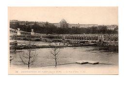 75 - PARIS . INONDATIONS DE PARIS 1910 . Le Pont D'Iéna - Réf. N°7998 - - Inondations De 1910