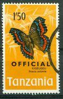 BM Tansania Dienstmarke 1973 | MiNr 24 | Used | Schmetterlinge - Tansania (1964-...)