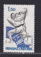 ANDORRE N°  281 ** MNH Neuf Sans Charnière, TB (D5660) Sport, Championnat Du Monde De Judo - Andorre Français