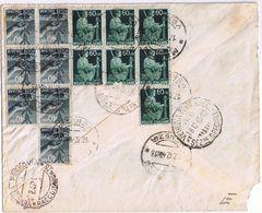 Raccomandata Mestre -> Treviso   Viaggiata 12/1945  1 Bollo Difettato - Ohne Zuordnung