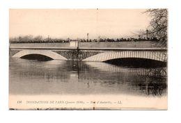 75 - PARIS . INONDATIONS DE PARIS 1910 . Le Pont D'Austerlitz - Réf. N°7999 - - Paris Flood, 1910