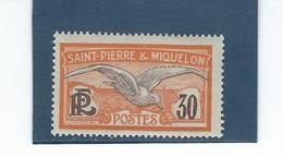 France St Pierre Miquelon  N° 111  **      Val YT :  3,00 € - Ungebraucht