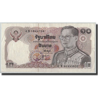 Billet, Thaïlande, 10 Baht, BE2523 (1980), KM:87, SPL - Thaïlande
