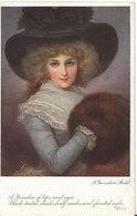 """Fashion Postcard - """"Gainsboro Models""""  - Keats - Raphael Tuck & Sons - Ref ND166 - Fashion"""