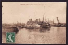 LORIENT ARSENAL CROISSEURS CUIRASSES 1913 (TB ETAT) Mi1792) - Lorient