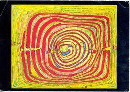 Hundertwasser : 300  Missing And Stolen Pictures - Spirals In Schweinfurt And Vermillon 1957 - Ecrite, Timbrée - 5335 - Pintura & Cuadros