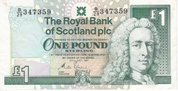 BILLETE DE ESCOCIA DE 1 POUND DEL AÑO 1991 (BANKNOTE) - [ 3] Escocia