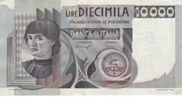 BILLETE DE ITALIA DE 10000 LIRAS DEL AÑO 1976 DE CIONINI  (BANKNOTE) - [ 2] 1946-… : Républic