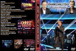 DVD JOHNNY HALLYDAY LE GRAND SHOW 2013 - Concert Et Musique