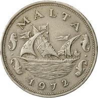 Malte, 10 Cents, 1972, British Royal Mint, TB+, Copper-nickel, KM:11 - Malta